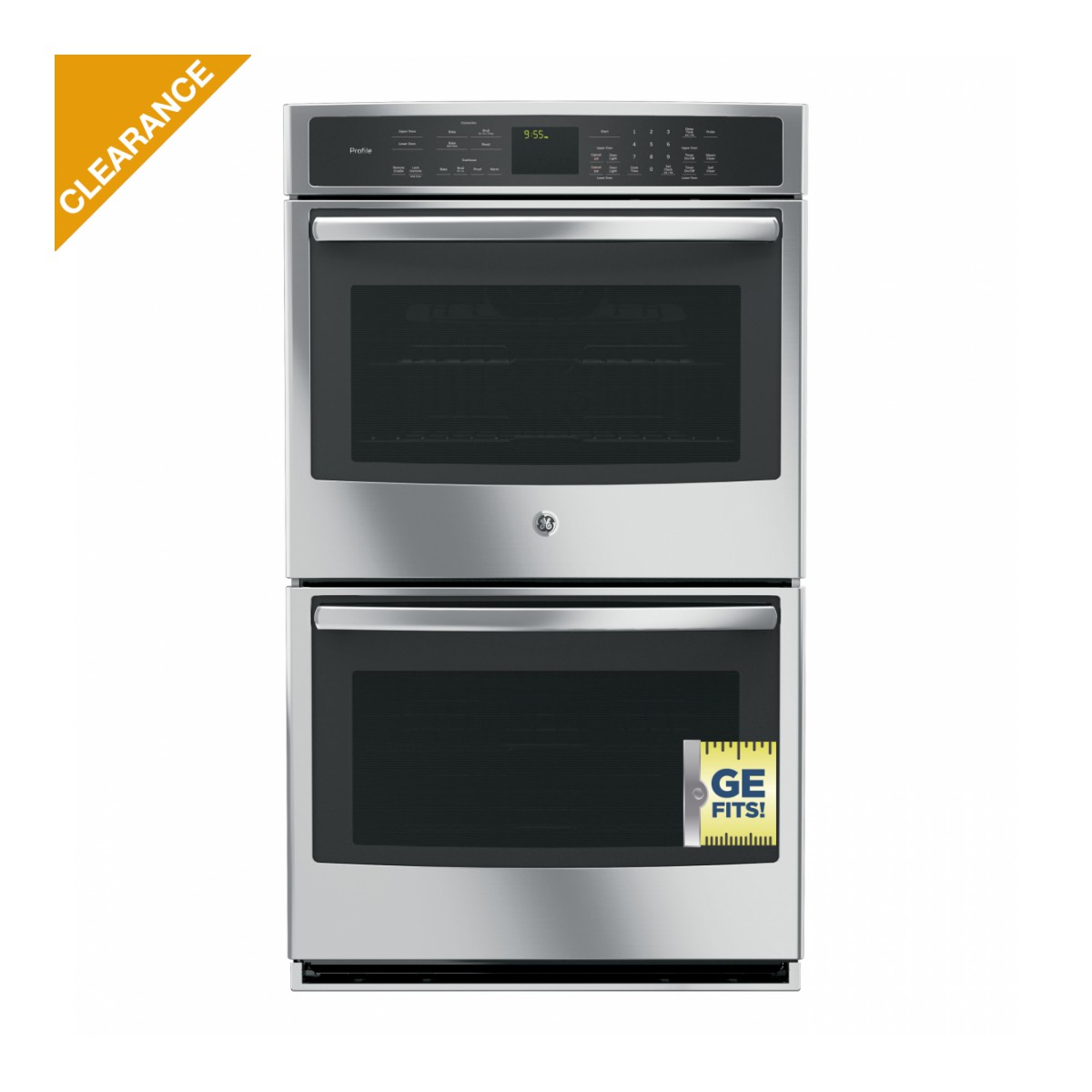 "30"" GE Profile™ Series 30"" Built-In Double Convection Wall Oven"