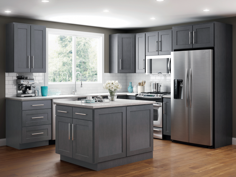 JSI Cabinets with GE Appliance Package